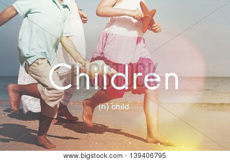 Children Child Childhood Kids Young Youth Concept