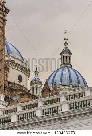 Cathedral Of The Immaculate Conception Cuenca Ecuador
