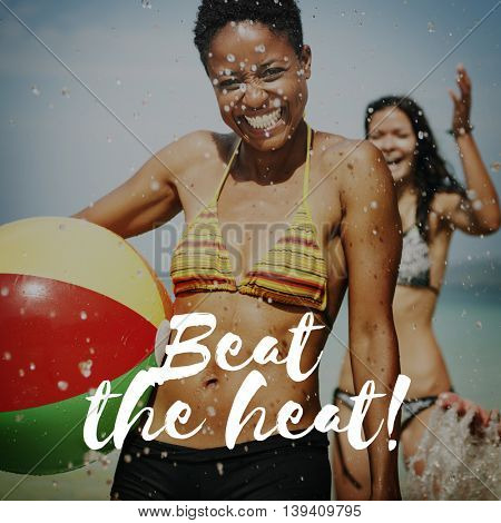 Beat The Heat Hot Nature Concept