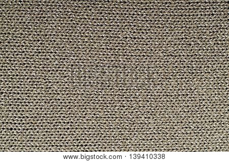 Colorful knitted fabric texture, for abstract background, grey