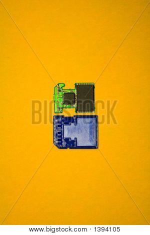 Interior Of Memory Chip