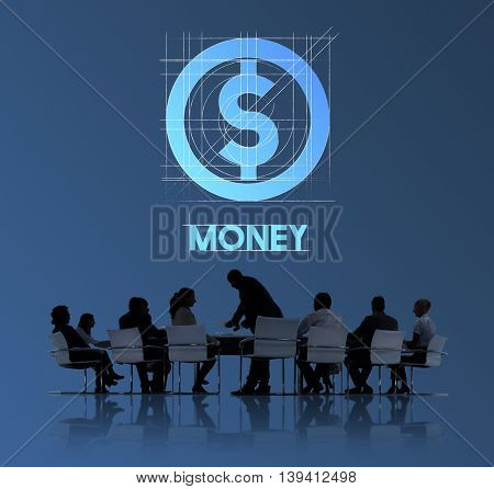 Money Finance Business People Technology Graphic Concept