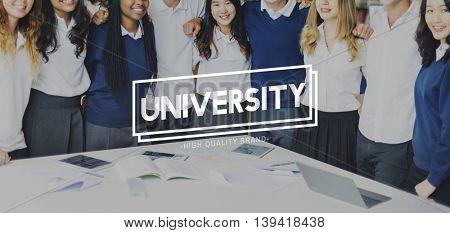 Study Education School Students University Concept