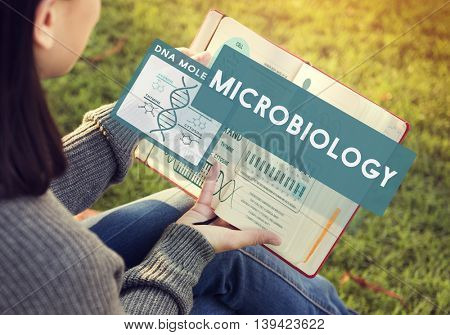 MicroBiology Bacteria Disease Illness Laboratory Concept