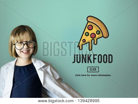 Calories Junk Food Unhealthy Obesity Concept
