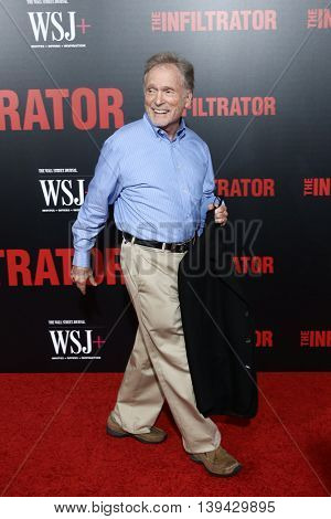 NEW YORK-JULY 11: Dick Cavett attends 'The Infiltrator' New York premiere at AMC Loews Lincoln Square 13 Theater on July 11, 2016 in New York City.