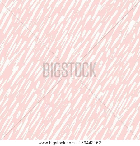 Seamless freehand drawn background uneven rain texture, vector illustration