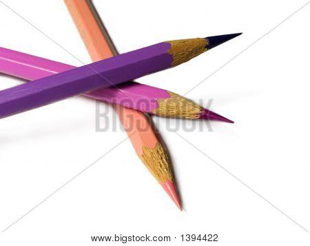 Violet Colour Pencils