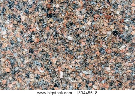 Background of the granite and quartz mica