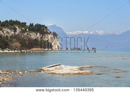 Coast Of Sirmione Peninsula