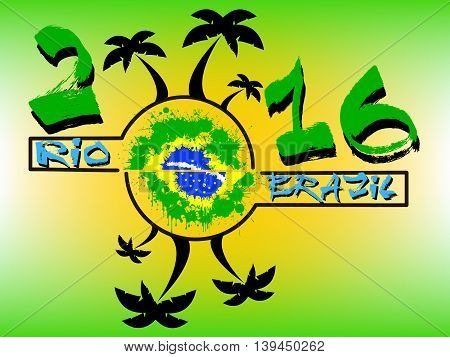 The Inscription Of The Rio 2016