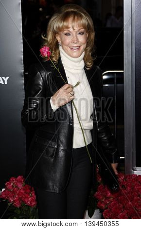 Barbara Eden at the Los Angeles premiere of 'Valentine's Day' held at the Grauman's Chinese Theater in Hollywood, USA on February 8, 2010.