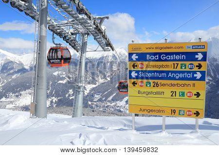 Austria Ski Lift