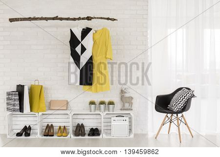 Adequate Storage Space For Trendy Clothes And Accessories