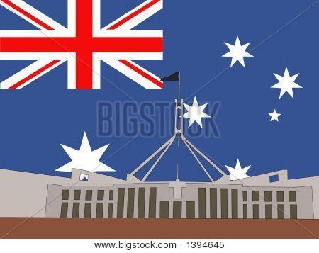Australian Parliament Building Canberra