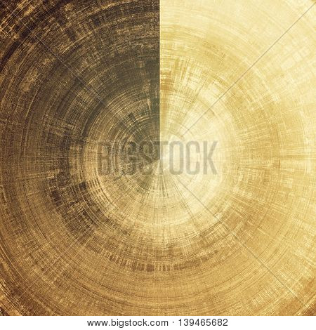 Spherical veined grunge background or scratched texture with vintage feeling and different color patterns: yellow (beige); brown; gray; black; white