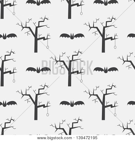 Helloween Mystic Seamless Pattern Background