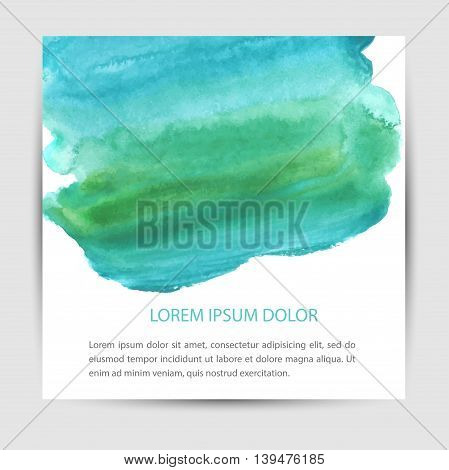Card design with hand-drawn marker vector markers background. Vector design template for card letter banner menu.