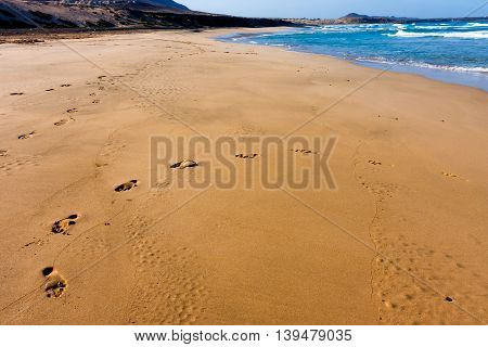 Cape Verde, beach on Sao Vicente Island