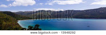 Magens Bay em St Thomas Usvi