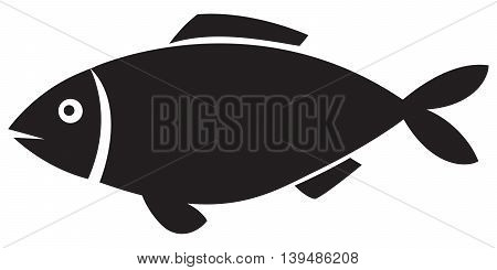 fish icon computer icon symbol simplicity sparse animal