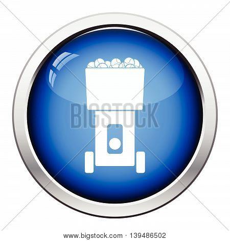 Tennis Serve Ball Machine Icon
