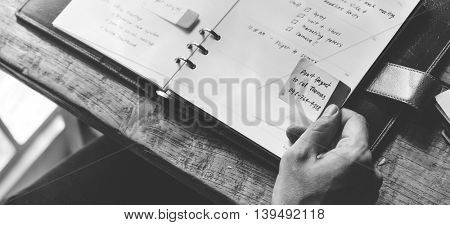 Schedule Agenda Appointment Meeting Objective Concept
