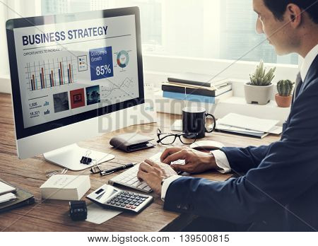 Entrepreneur Businessman Networking Strategy concept