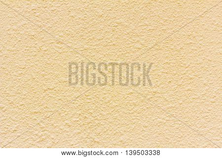 Yellow grunge cement wall textured background, Pattern of plaster wall.
