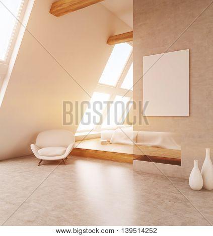 Comfortable Light Bedroom