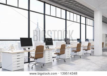 New York City Modern Office Interior