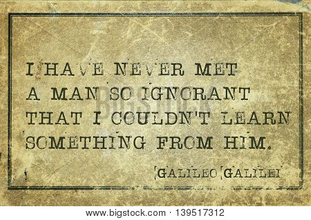 Met Man Galileo