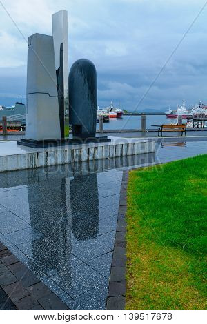 Eve Online Monument In The Harbor Of Reykjavik