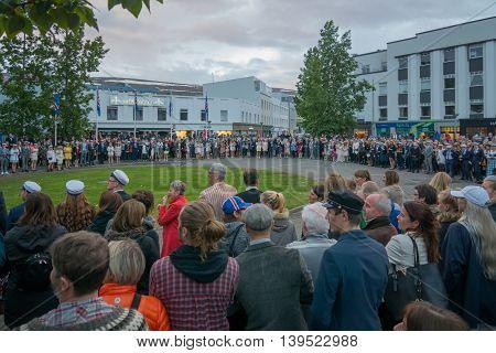 Independence Day Celebrations In Akureyri