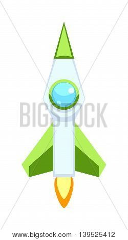 Rocket set and technology space ship rocket cartoon icons. Science future travel rocket and shuttle fly rocket. Speed galaxy fantasy rocket and futuristic spacecraft, astronaut modern element.