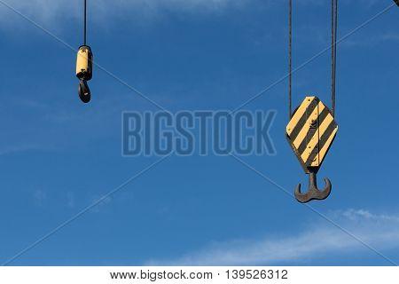 Two Crane Hooks