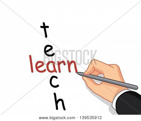 hand writing learn and teach for you design
