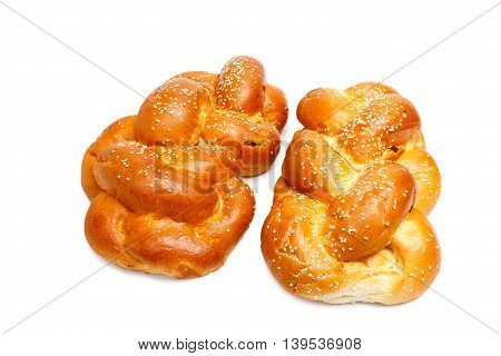 Two Shabbat Challah