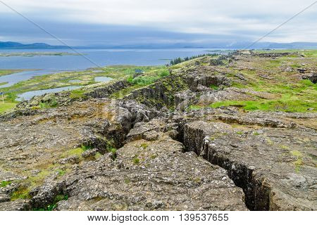 The Continental Drift In Thingvellir