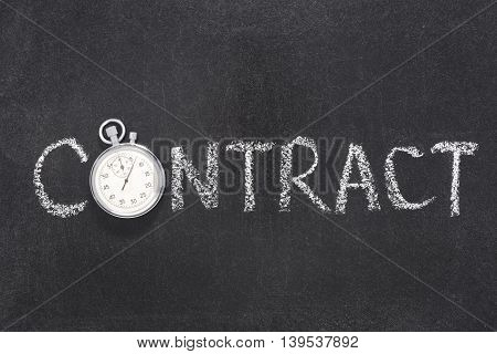 Contract Word Watch