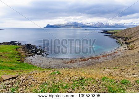 Coastline And Landscape In The East Fjords