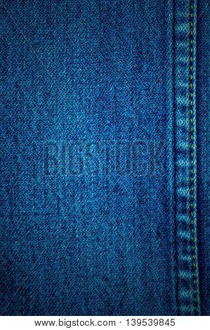 Blue denim texture, jeans texture background retro