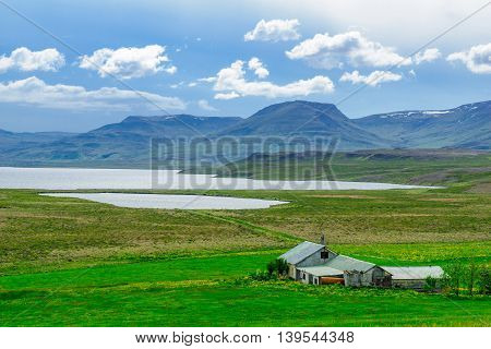 Landscape In The Vatnsnes Peninsula