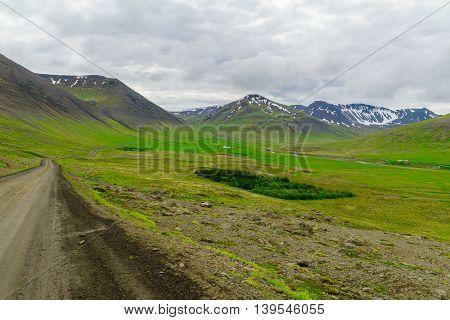 Landscape Of Hrafnseyrarheidi