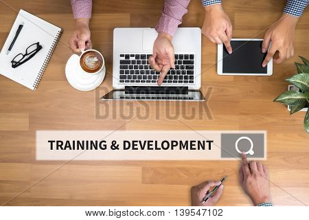 Training & Development Concept