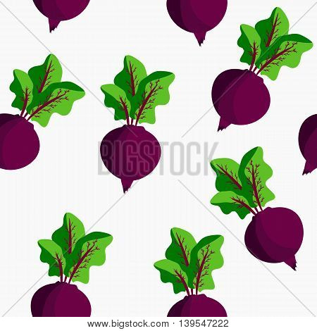 Seamless with beet. It can be used for decoration kitchen accessories tablecloths fabrics cutting boards or other