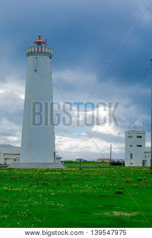 The New Lighthouse In Gardur