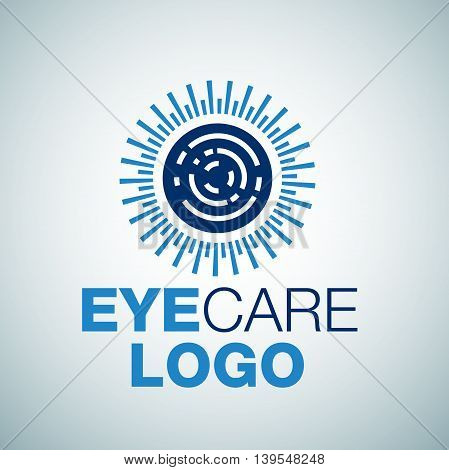 eye care  8 logo concept designed in a simple way so it can be use for multiple proposes like logo ,marks ,symbols or icons.
