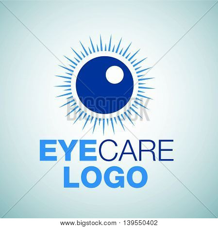 eye care 4 logo concept designed in a simple way so it can be use for multiple proposes like logo ,marks ,symbols or icons.