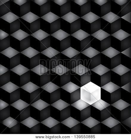 background black squares in dark colors. eps10 vector illustration